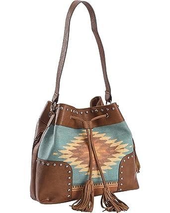 33d3e83e2a5c M&F Western Women's Zapotec Bucket Bag