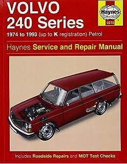 Volvo 240 service manual dl gl turbo 240 240 dl 240 gl 240 volvo 240 series petrol 74 93 haynes repair manual haynes service and solutioingenieria Gallery