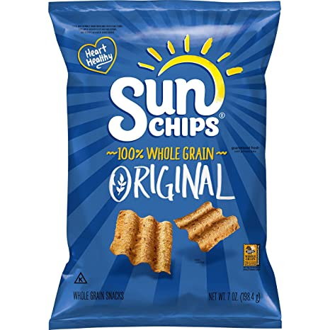 Sun Chips Original Multigrain Snacks, 7 Ounce