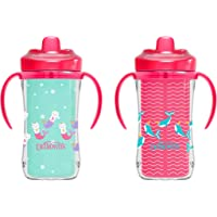 Dr. Brown's Milestones Hard Spout Insulated Cup, Pink, 2 Pack