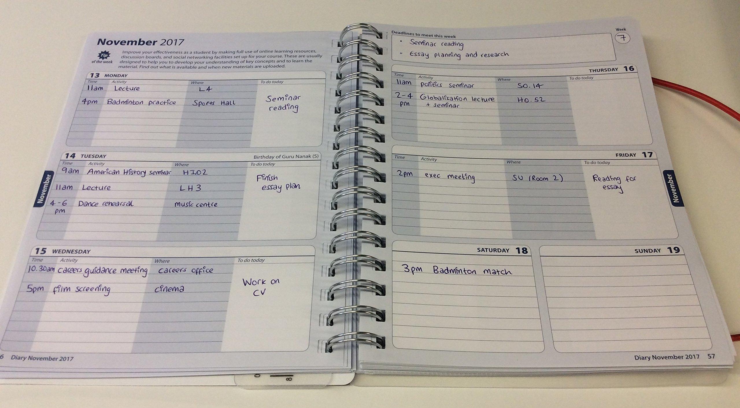 The Palgrave Student Planner 2017-18 Macmillan Study Skills ...