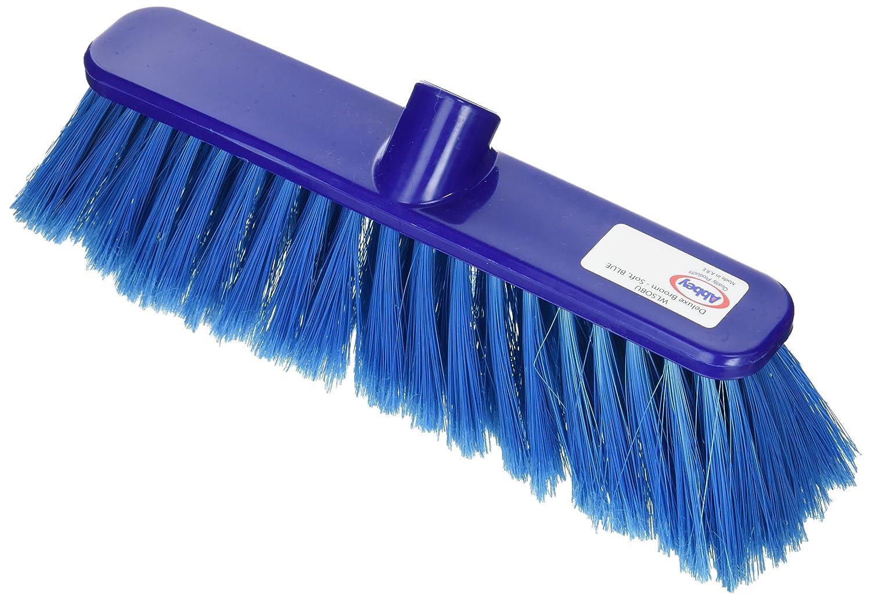 BUNZL P04047 Broom Head, Soft, 30 cm, Blue BZ01354