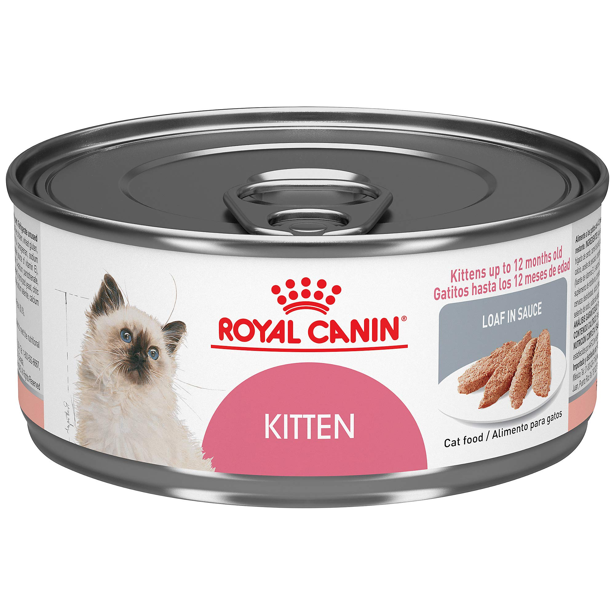 Royal Canin Feline Health Nutrition Loaf in Sauce Wet Kitten Food, 5.8 Ounce Can (Pack of 24) by Royal Canin