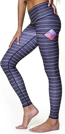 Teeki, Women's Hot Pants or Leggings, Reflection Pattern