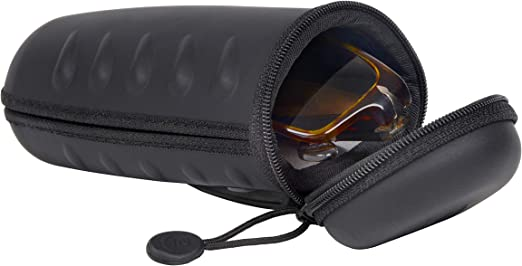 Nite Ize Rugged Hard Glasses Case with Clip & Loop Glasses Case ...