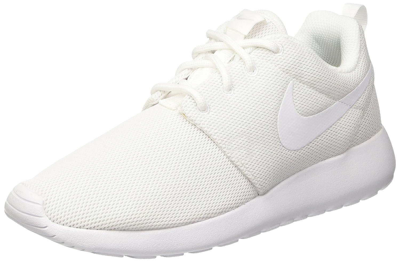 NIKE Women's Roshe One Running Shoe B01GE1V0KC 9.5 B(M) US|White/Pure Platinum/White