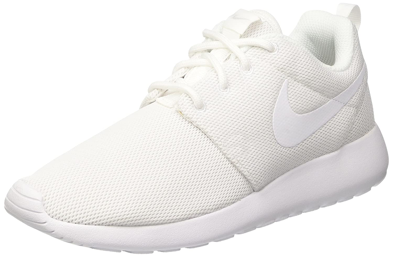 Amazon.com | Nike Womens Roshe One Running Shoes (5 B(M) US)(White/White Pure Platinum) | Road Running