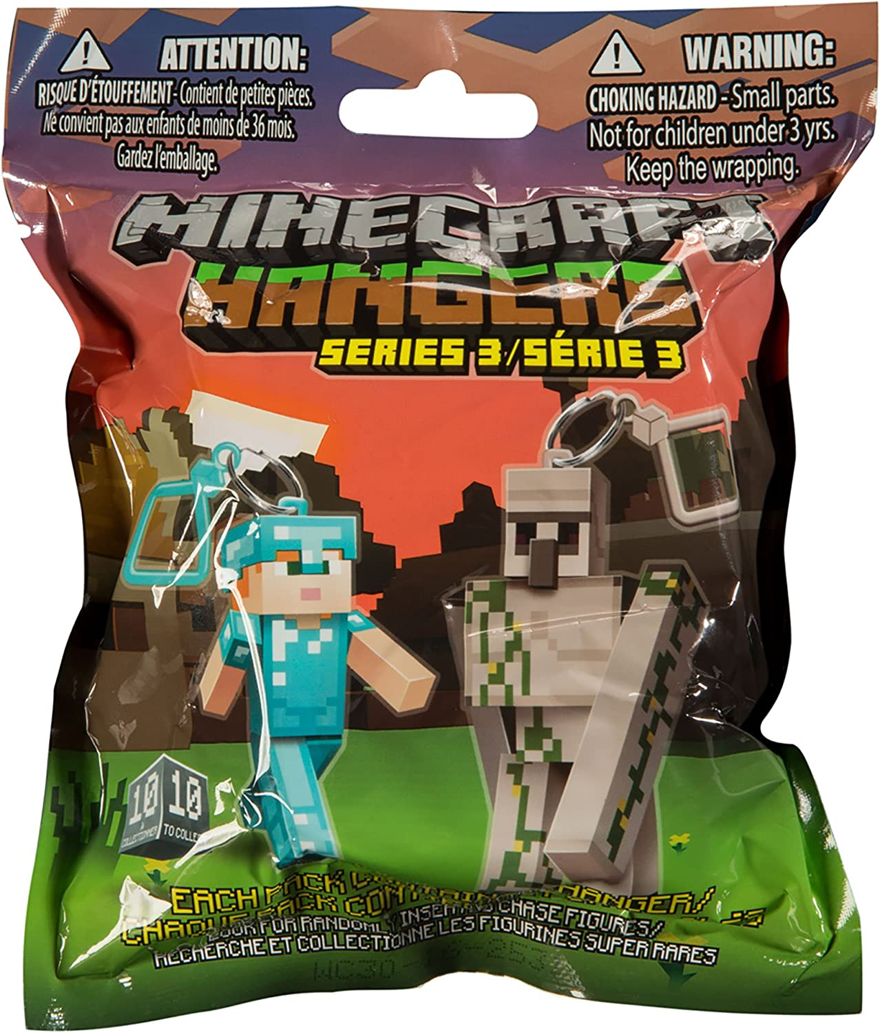 Minecraft Cintres Aveugles Pack S5