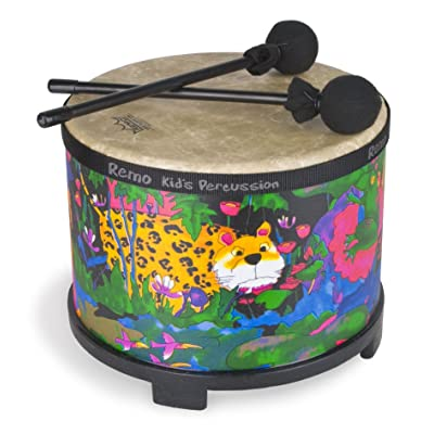 "Woodstock Percussion Remo Kid's Floor Tom Drum 10"" Diameter: Toys & Games"