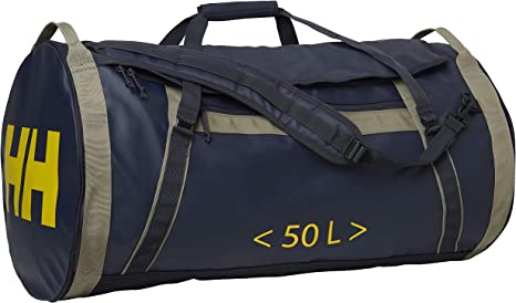 Helly Hansen Classic Duffel Bag Travel Bag Durable Materials and Practical Size with Multiple Pockets