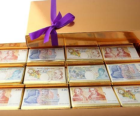 Mini Belgian Chocolate Pound Notes - 385g & Mini Belgian Chocolate Pound Notes - 385g: Amazon.co.uk: Grocery Aboutintivar.Com
