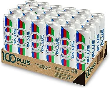 100 Plus Isotonic Drink, Original, 325ml x 24