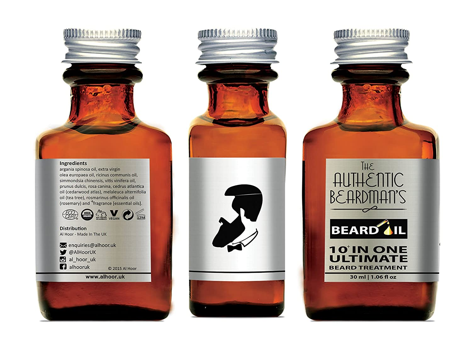 Shaving & Hair Removal Hawkins&brimble Beard Oil Easy To Lubricate Aftershave & Pre-shave