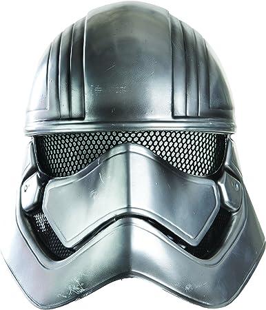 Star Wars - Media máscara de Capitán Phasma para adultos, talla única (Rubie'S Spain 32303)