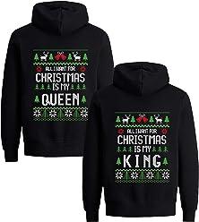 Partner Pullover Weihnachten.Amazon De Tom S Couples Shop Hoodie