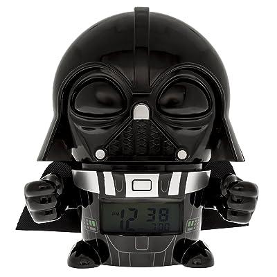 BulbBotz Despertador Infantil Darth Vader, Negro, 8.89x12.7x13.97 cm, 2021364: Hogar