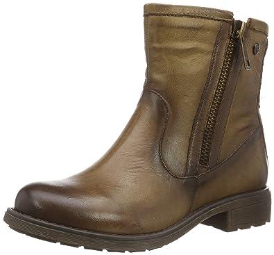 XTI Damen 047346 Biker Boots, Schwarz (Black), 39 EU