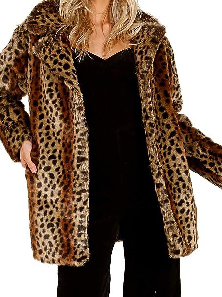 Amazon.com: Heartloom Mika - Chaqueta, diseño de leopardo ...