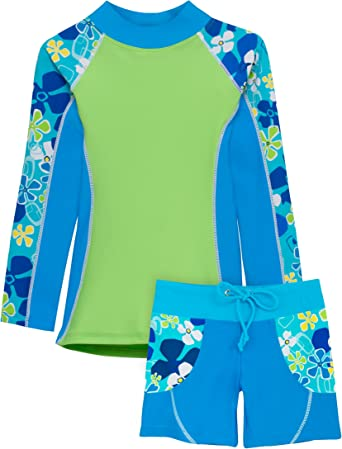 Size : 8 FeliciaJuan Kids Beach Sport Banded One Piece Swimsuit Girls Kids Leaf Printed One Piece Swimsuit Bathing Suits Children Swimwear Uv Protection