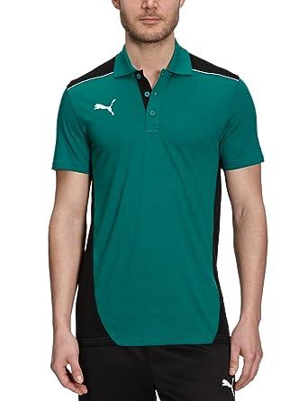 Puma - Camiseta de fútbol sala para hombre, tamaño XXL, color team verde -