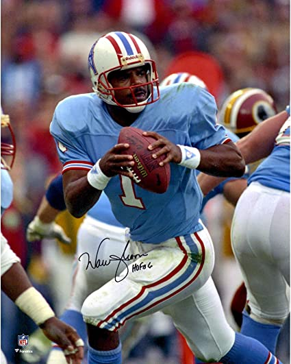 Image Unavailable. Image not available for. Color  Warren Moon Houston  Oilers ... acccdb511