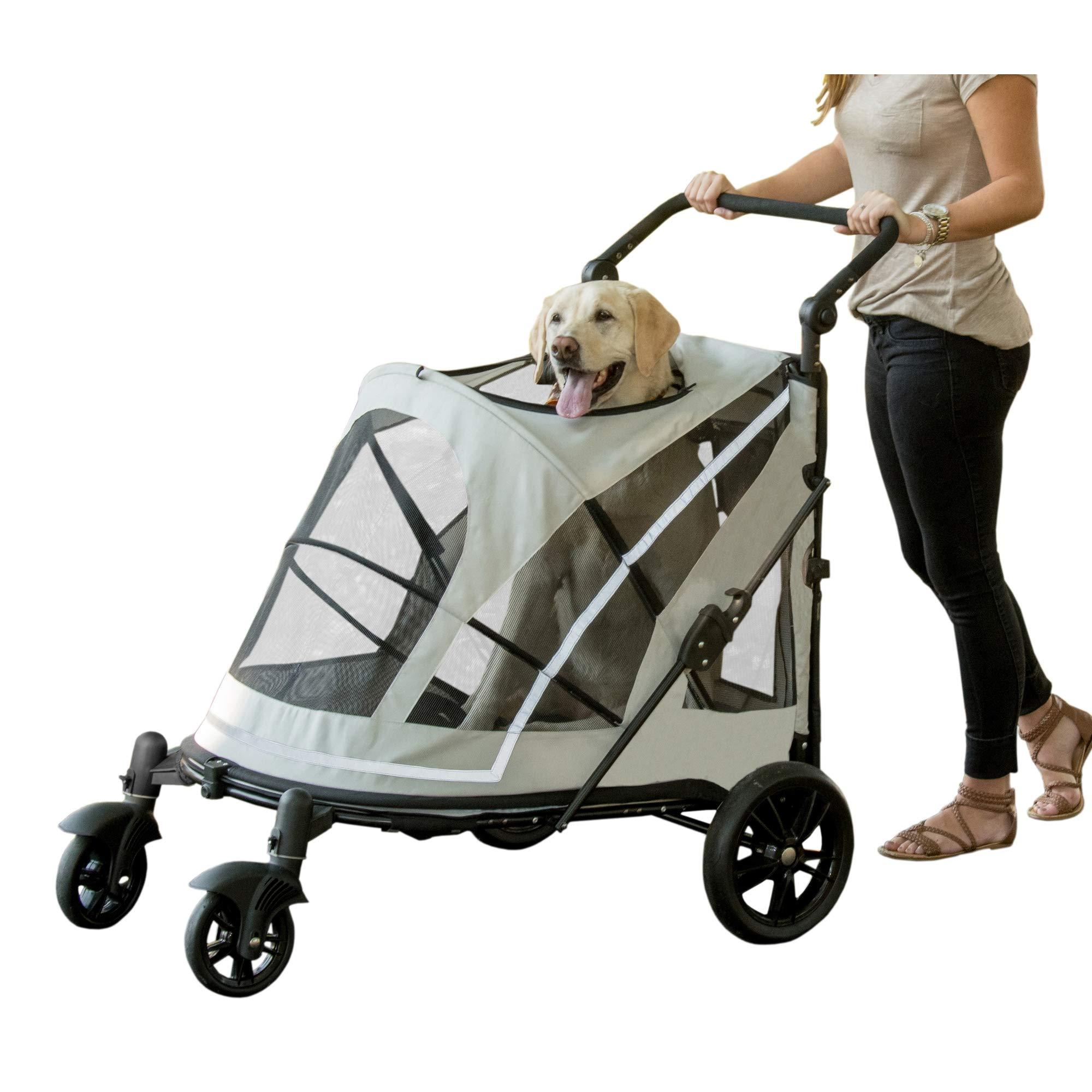 Pet Gear PG8850NZFO No-Zip Expedition Pet Stroller by Pet Gear