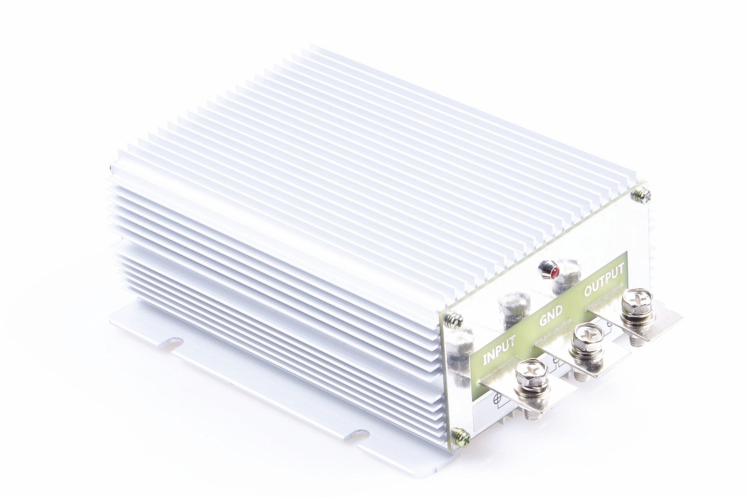 Waterproof DC/DC 24V Step Up to 48V 20A Voltage Boost Converter Regulator Transformer Power Supply (IN DC 24V (18-32V), 48V 20A)