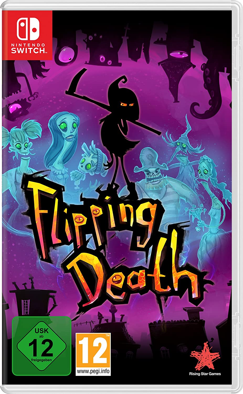 GAME Flipping Death Básico Nintendo Switch vídeo - Juego (Nintendo Switch, Aventura, T (Teen)): Amazon.es: Videojuegos