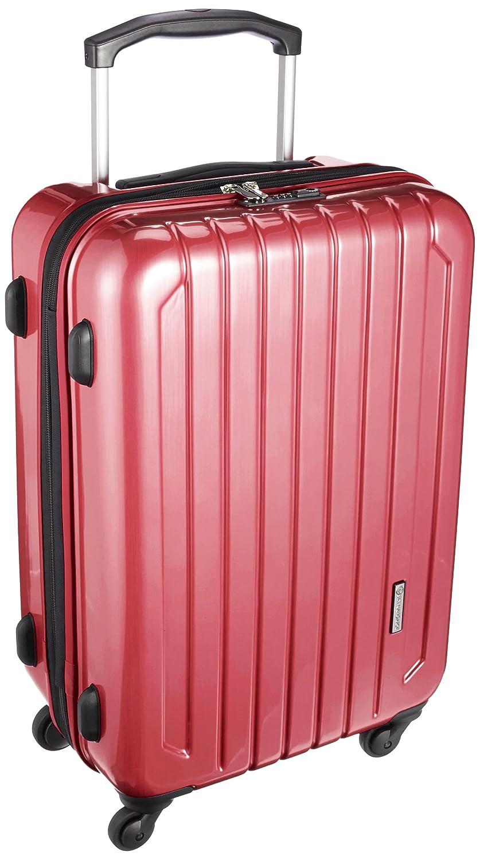 [スカイナビゲーター] スーツケース 保証付 65L 67cm 4.1kg SK-0725-61 B0792MBND1 レッドヘアーライン