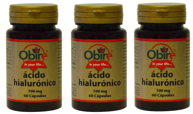 Acido Hialurónico 100 mg 60 cápsulas. Oribe (Pack 2u.): Amazon.es: Salud y cuidado personal
