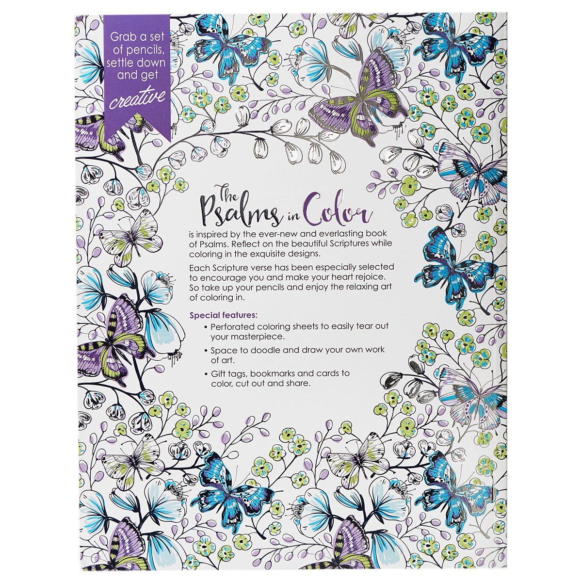 Flowers coloring book beautiful pictures from the garden of nature - Amazon Com 34 The Psalms In Color 34 Inspirational Adult Coloring Book 9781432115968 Christian Art Publishers Books