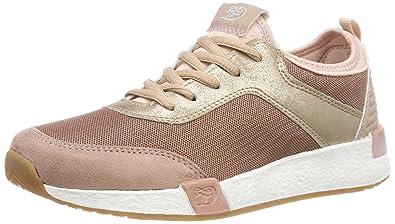 TOM TAILOR Damen 4899104 Sneaker, Pink (Old Rose), 36 EU