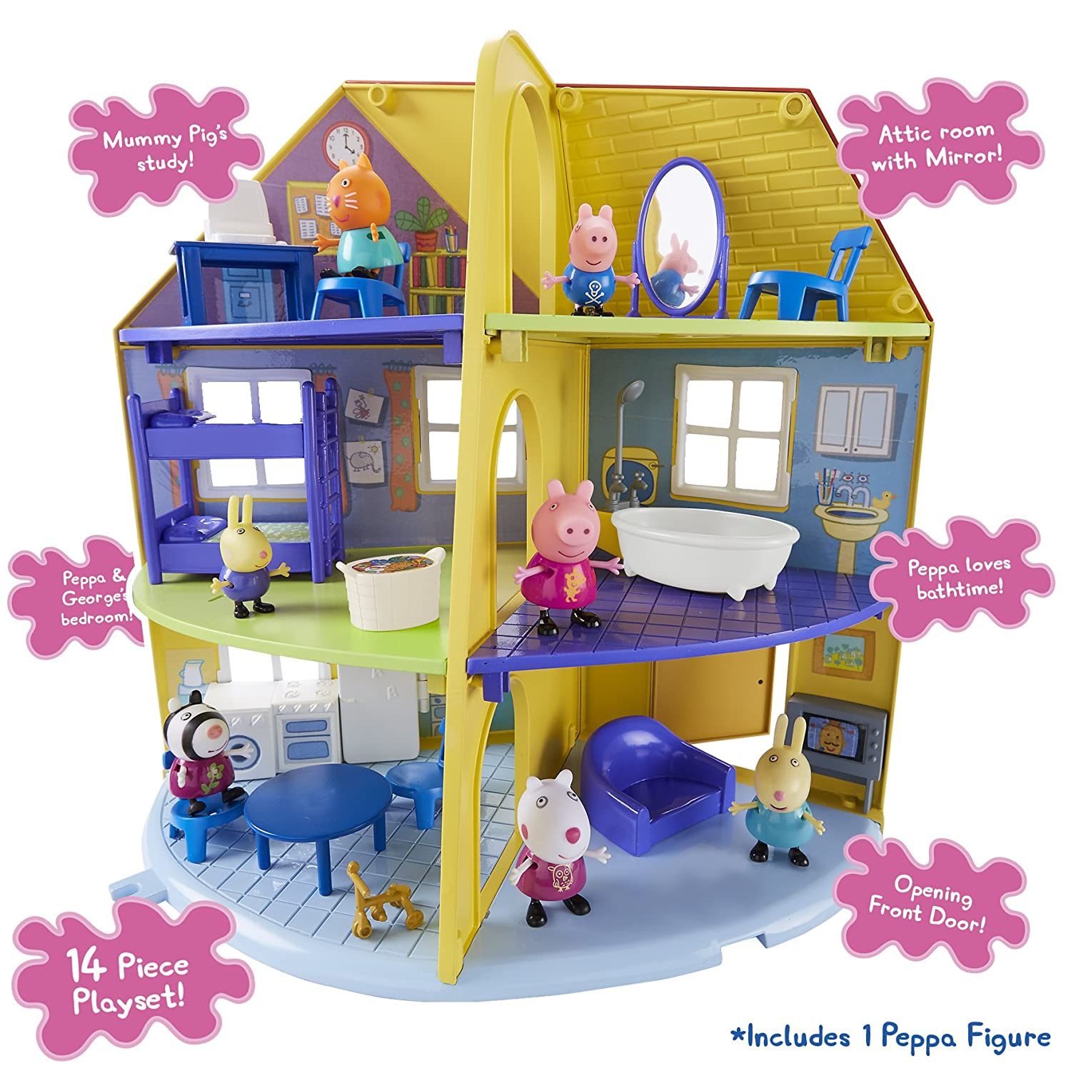 Peppa Wutz 06384Peppas Family Home Spielset Character Options