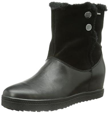 Women's Amaranth High Wedge Snow Boot