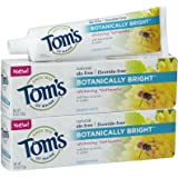 Tom's of Maine Botanically Bright - 4.7 oz - Peppermint - 2 pk