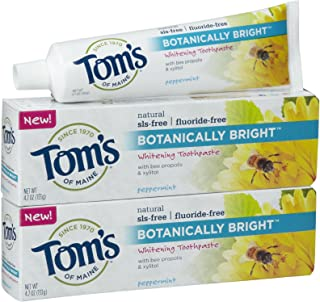 product image for Tom's of Maine Botanically Bright, Peppermint - 4.7 oz - 2 pk