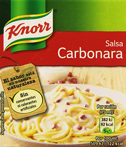 Knorr Salsa Brick Carbonara - 300 ml