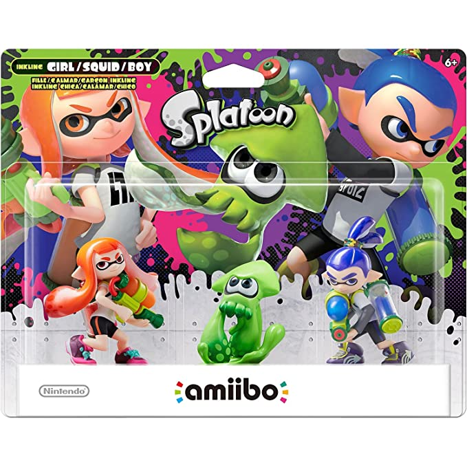 Amiibo - Splatoon Collection Triple Pack: Inkling-Mädchen ...