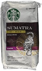Starbucks Ground Coffee Dark Sumatra