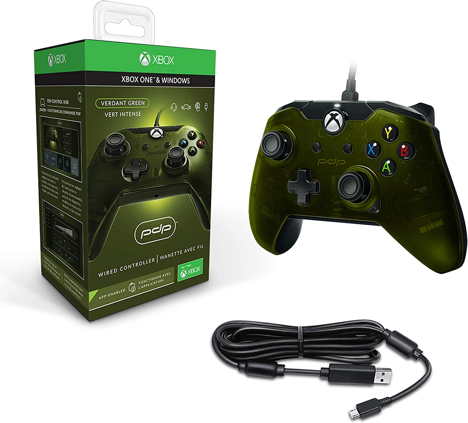 Pdp - Mando Licenciado Nueva, Color Verde (Xbox One): Amazon.es ...