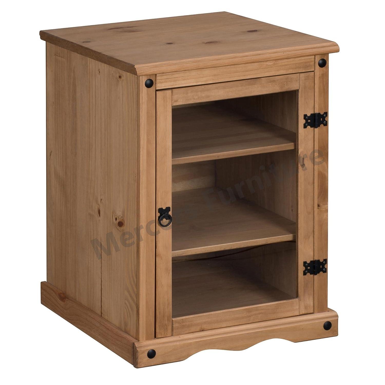 Mercers Furniture Corona-unit/à Hi-Fi in Legno in Cera Anticata