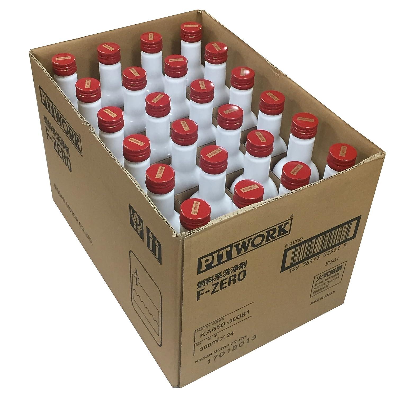PITWORK(ピットワーク) 燃料系洗浄剤 F-ZERO(エフゼロ) レッドキャップ【ワコーズ製日産向けOEM商品】(ガソリン、ディーゼル共用燃料添加剤) 300ml KA650-30081 B00QS6HNHS 1本  1本