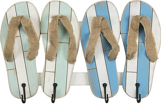 flip flop - Toalla de playa lago piscina estilo perchero ...