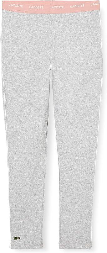Lacoste Pantalon de survêtement Fille: Amazon.