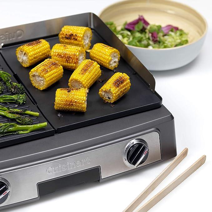 Cuisinart PL50E Plancha BBQ Elite, Large surface de grill