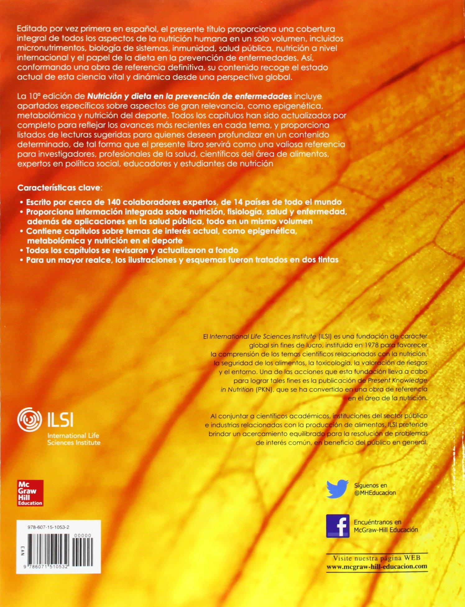 NUTRICION Y DIETA EN LA PREVENCION DE ENFERMEDADES: Amazon.es: John W. Erdman: Libros