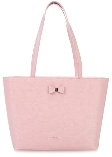 bd7c5474e84546 Ted Baker Deanie Bow Detail Small Leather Shopper Bag - O S