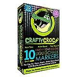 Crafty Croc Liquid Chalk Markers, 10 Pack Earth