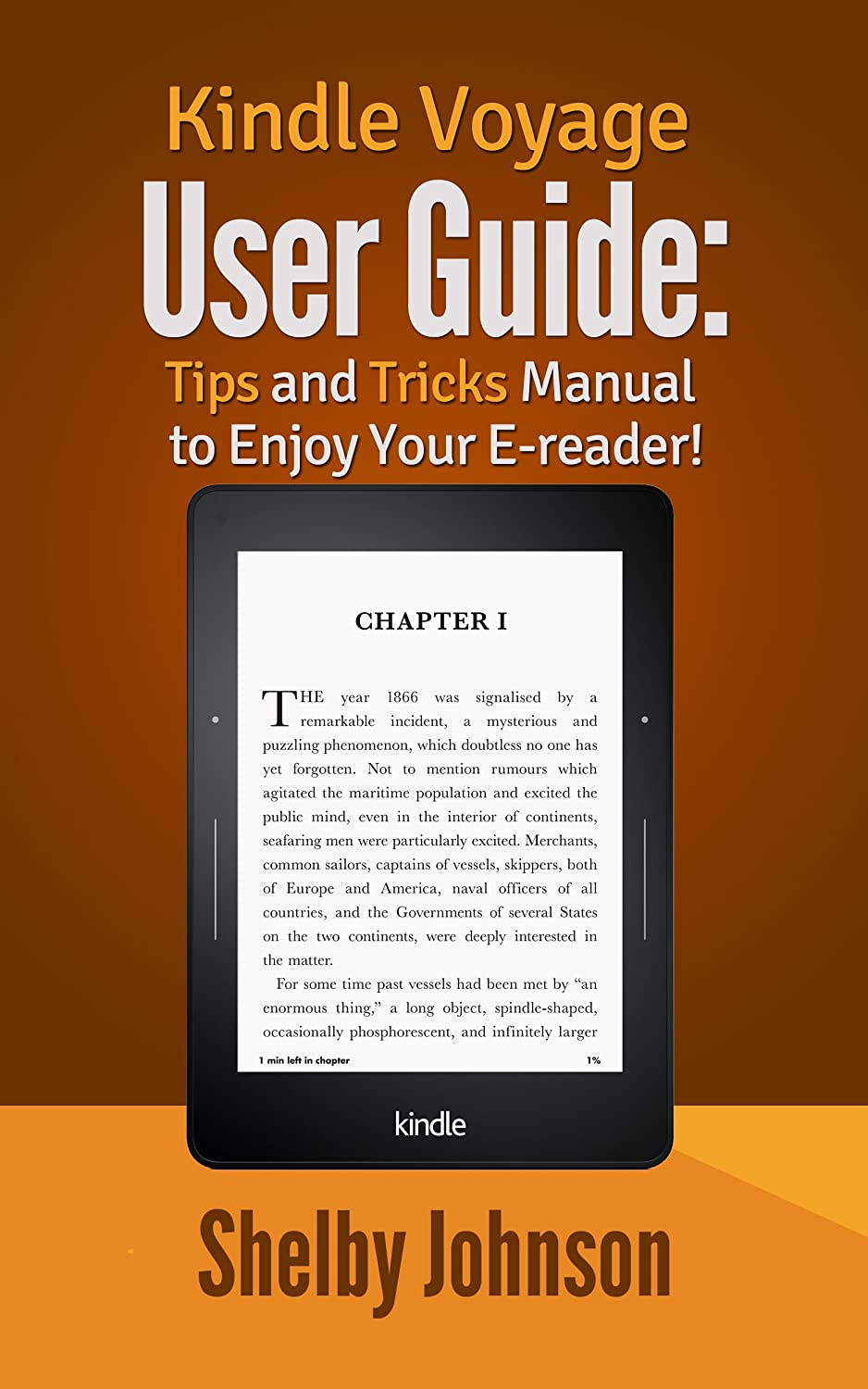 Kindle Voyage User Manual: Tips & Tricks Guide to Enjoy Your E ...