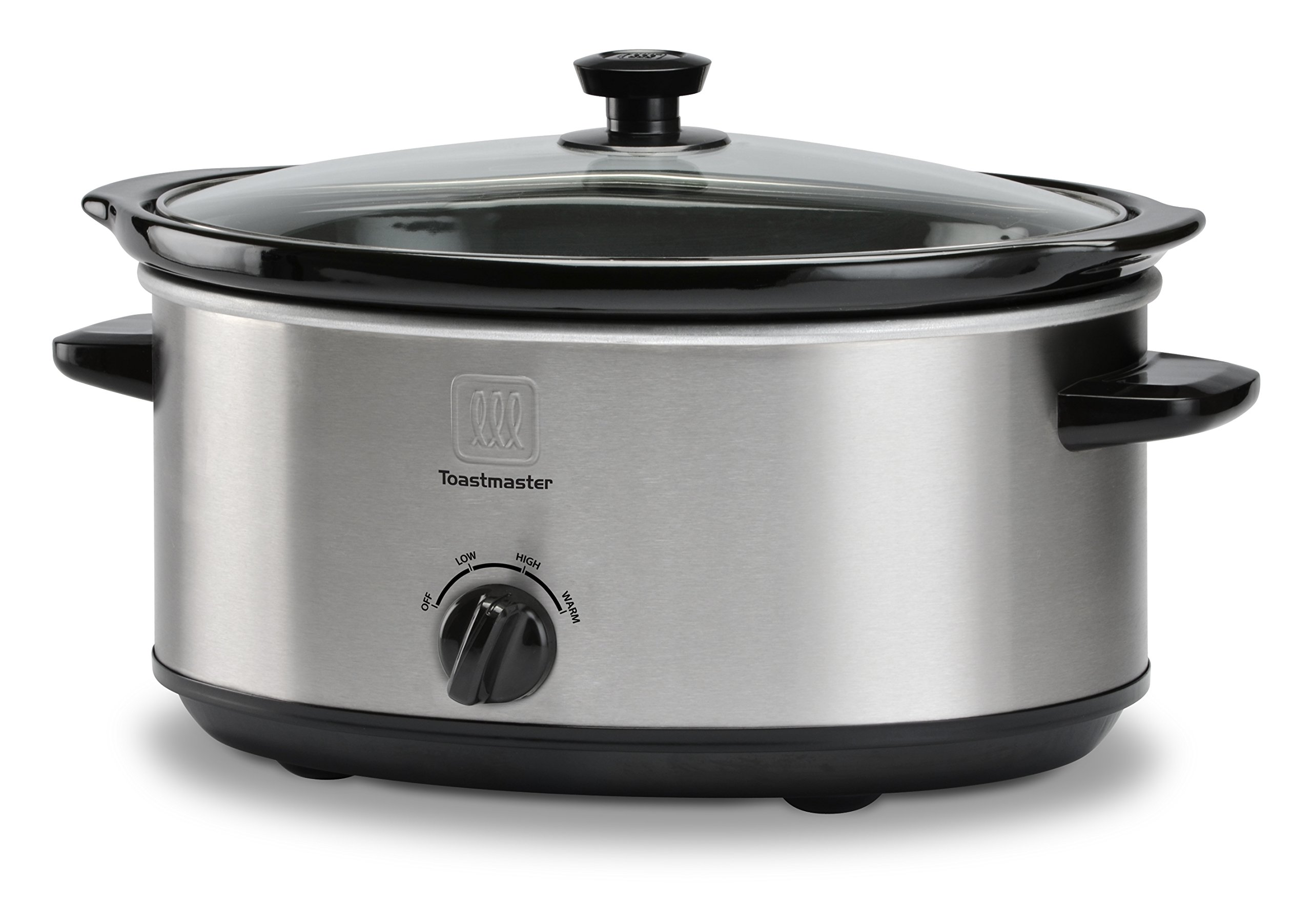 Toastmaster TM-701SC 7-Quart Slow Cooker, Stainless Steel